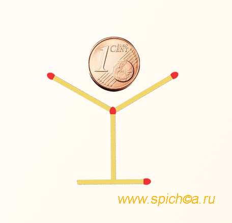 Монетка в рюмке