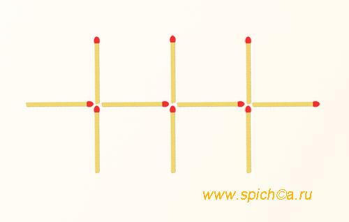 Из решетки 2 квадрата