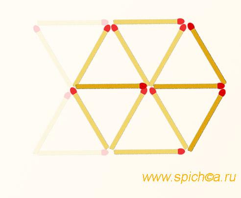 Из двух песочных часов шестиугольник - решение