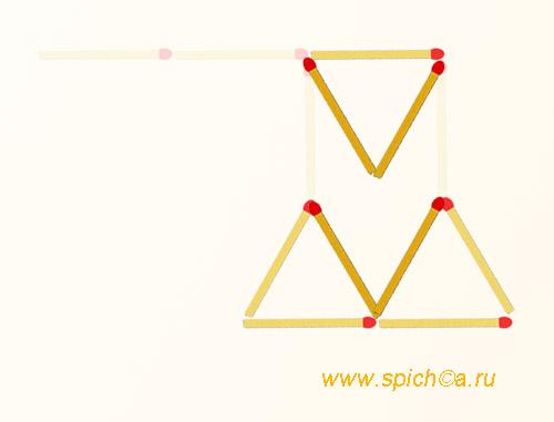 Из топора 3 треугольника - решение