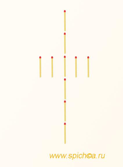 Подмена алмазов на кресте