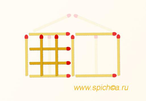 Из храма 15 квадратов - ответ