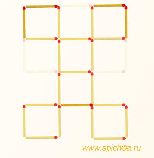 Из башни 6 квадратов - ответ