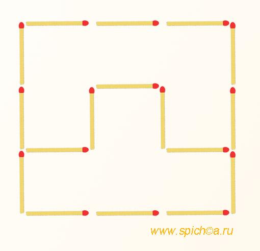 Из фигурок тетриса 4 квадрата