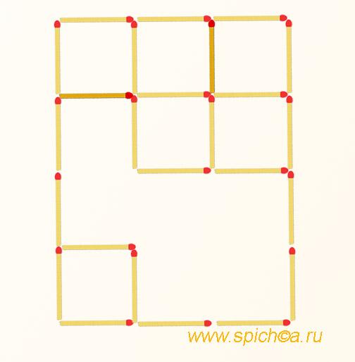Квадратов в 2 раза больше - решение