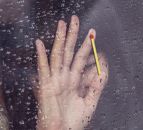Фокус - Как сломать спичку двумя пальцами