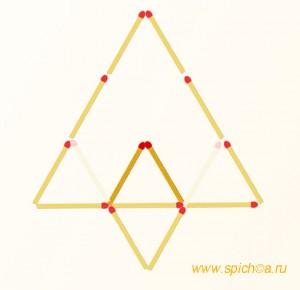 Из четырех треугольников три - решение