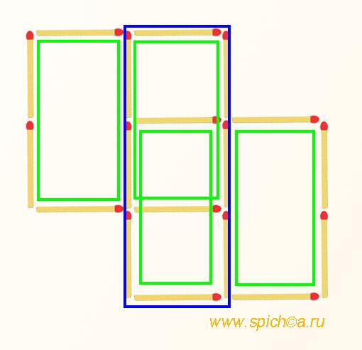 Сколько прямоугольников на рисунке? - решение