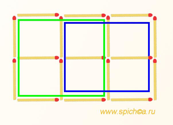 Сколько квадратов на рисунке? - решение