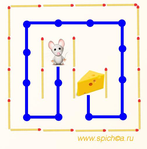 Мышка Ми ищет длинный путь - решение