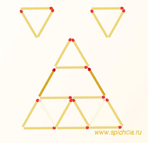 Из 8 треугольников шесть - решение